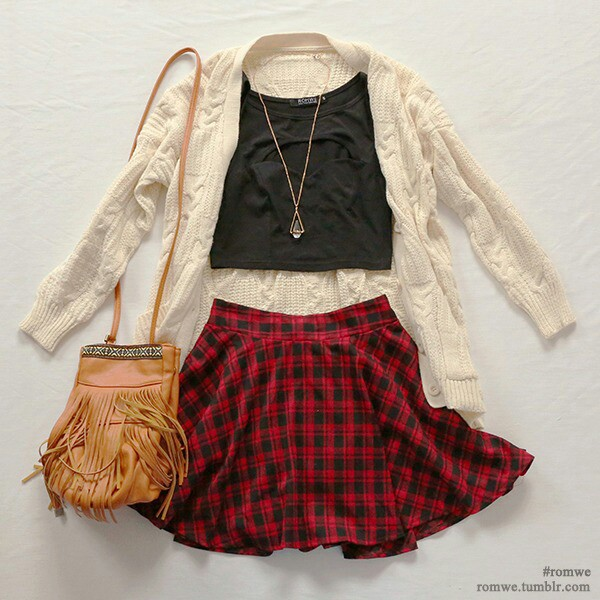 Skater skirt with converse