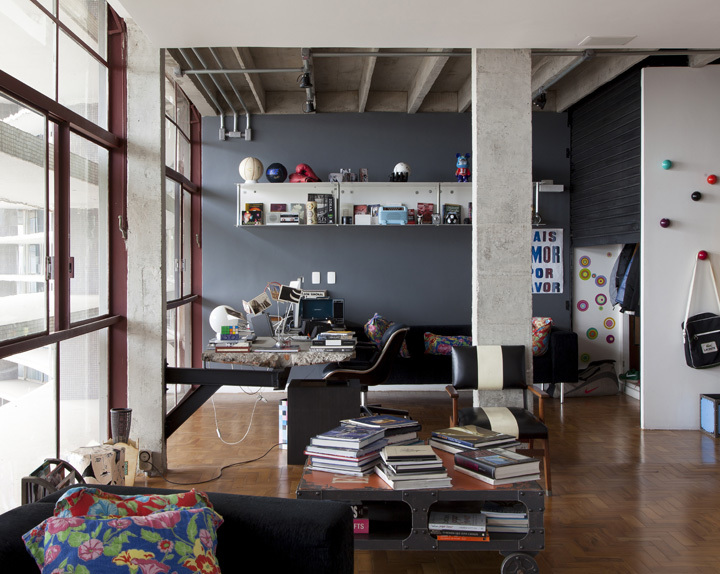 apartament, architecture, art and colorful