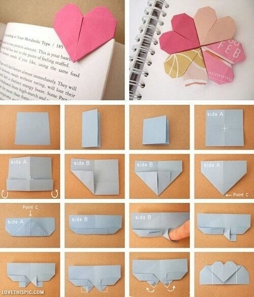 adorable, book, bookmark, diy, projects, reading