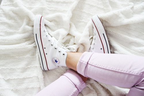 Outfit With White Shoes Tumblr