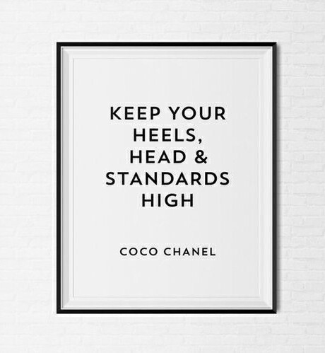 Coco Chanel Frases Inspiration Phrases True Image