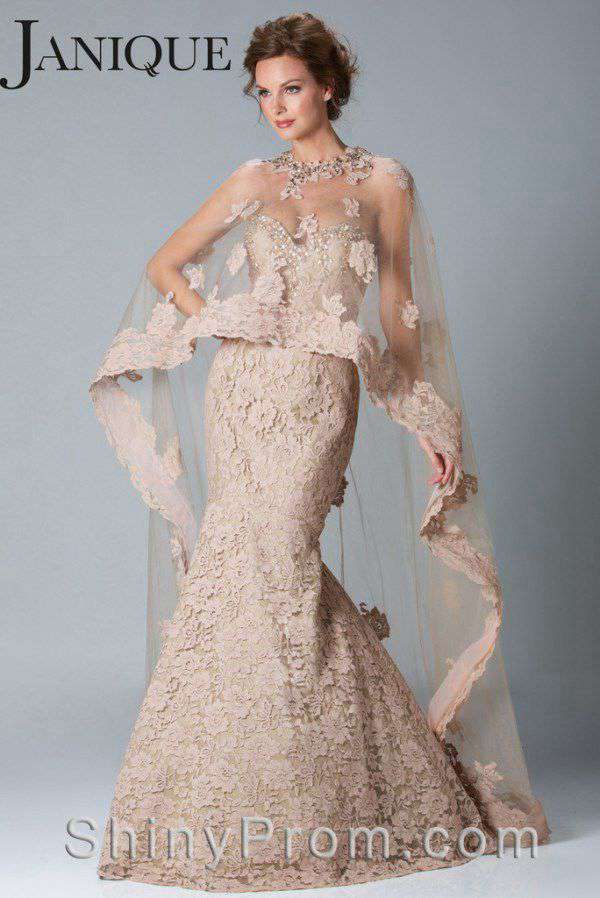 Prom Dresses with Sheer Overlay