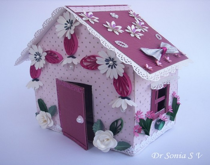 diy tutorial, Recycled Crafts, Recycled Cardboard and DIY Doll House
