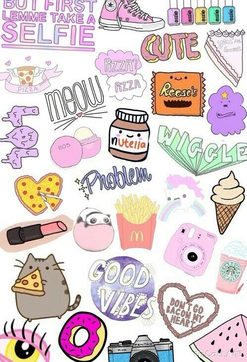 Cat Cips Cute Nutella Panda Pikachu Pizza Unicorn