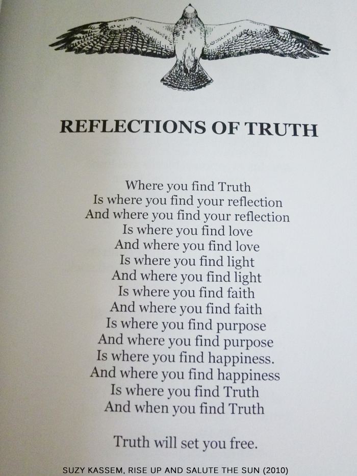 poems, reflections, seek truth and truth