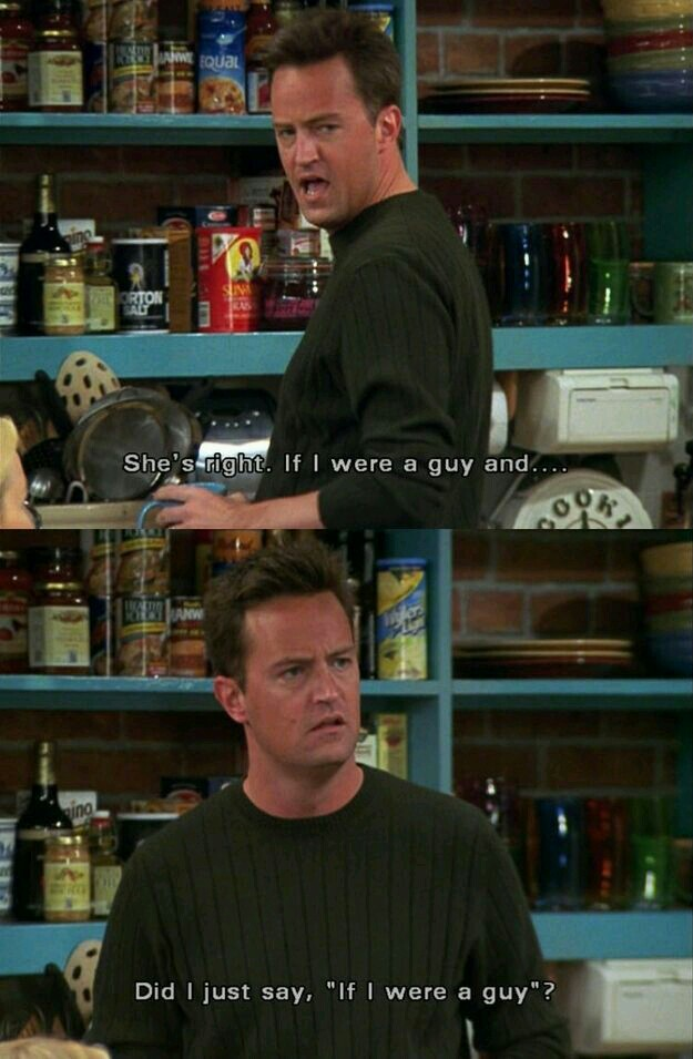 chandler bing, friends, funny and lol