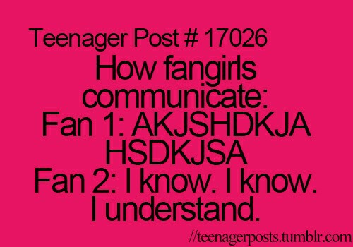 fangirl, funny, humor and joke