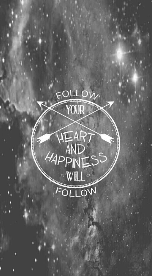 background, black and white, heart, iphone, love, samsung, tumblr ...