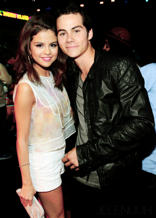 Dylan obrien and selena gomez