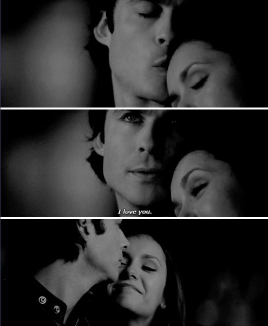 the vampire diaries damon and elena dating in real life