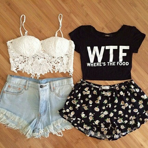 Cute Tumblr Outfits Crop Top | Car Interior Design