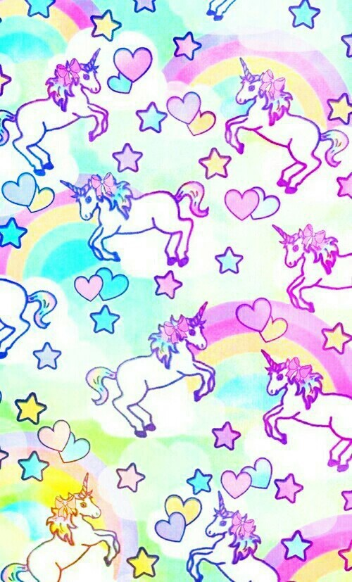 extremely cute wallpapers of unicorn - photo #34