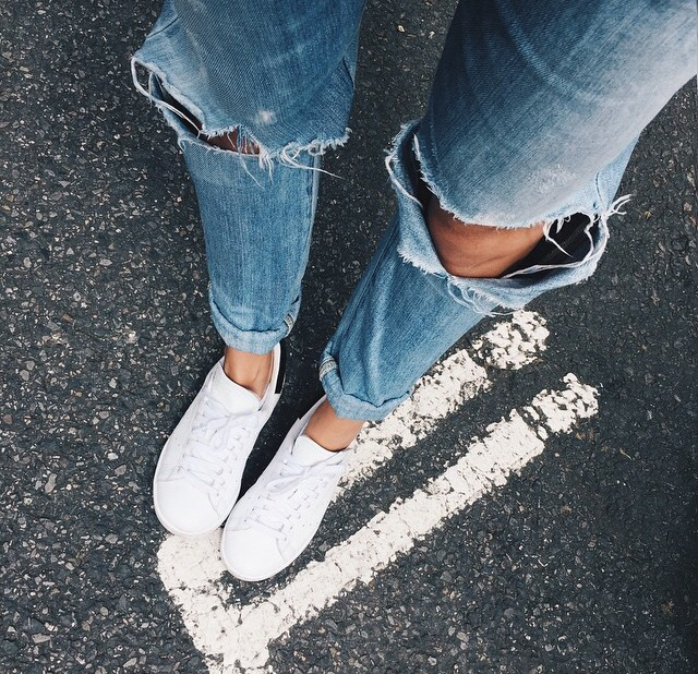 Shoes With White Jeans