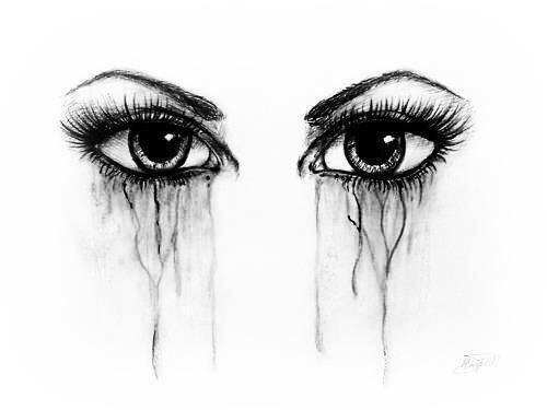 Drawings Sadness And Dark: Alternative, Art, Artist, Artwork, Black And White, Cry