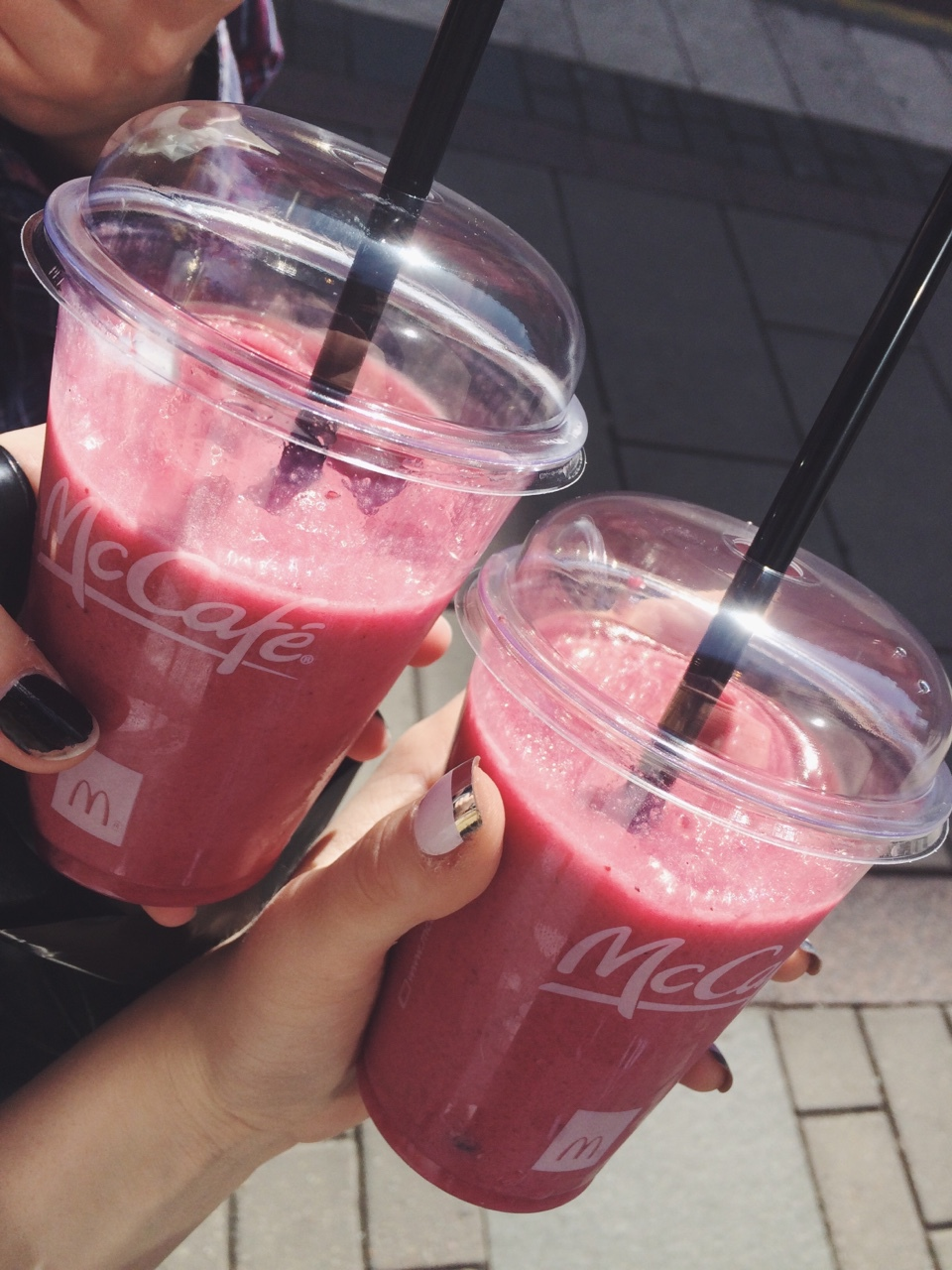 boho, delicious, food, fruit, fruits, grunge, healthy, hipster, indie, mc donalds, pale, photography, pink, retro, smoothie, tumblr, vintage