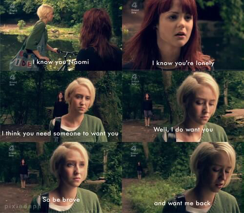 skins uk emily and naomi relationship
