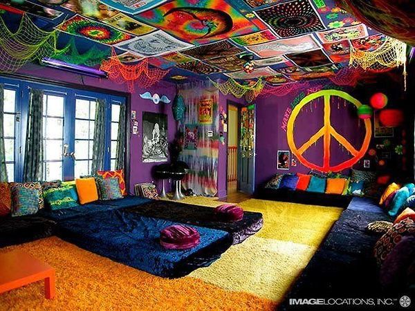 chambre coucher sensa hippie hipster agr able image 3009534 par rayman sur. Black Bedroom Furniture Sets. Home Design Ideas