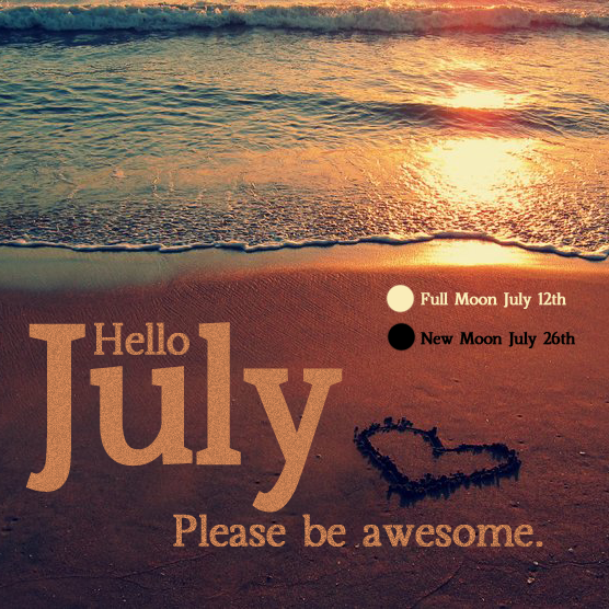 Hello July Tumblr   Image #3029964 By Helena888 On Favim.com