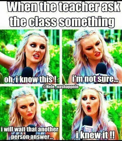 answer, class, funny and little mix