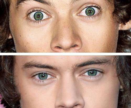 intense, perfection, vert, yeux, harrystyles, ️one direction