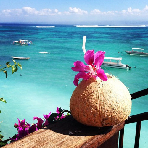 balcony, boats, coconut, dream place, flowers, love, ocean, sea, seaside, ships, summer, summertime, tumblr, view, house goals, exotic place, ⓟⓐⓡⓐⓓⓘⓢⓔ, beach, exotic drink