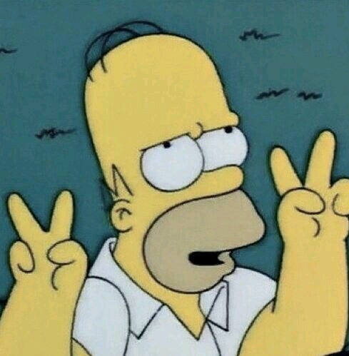 homer simpson, lol, peace & love and smile