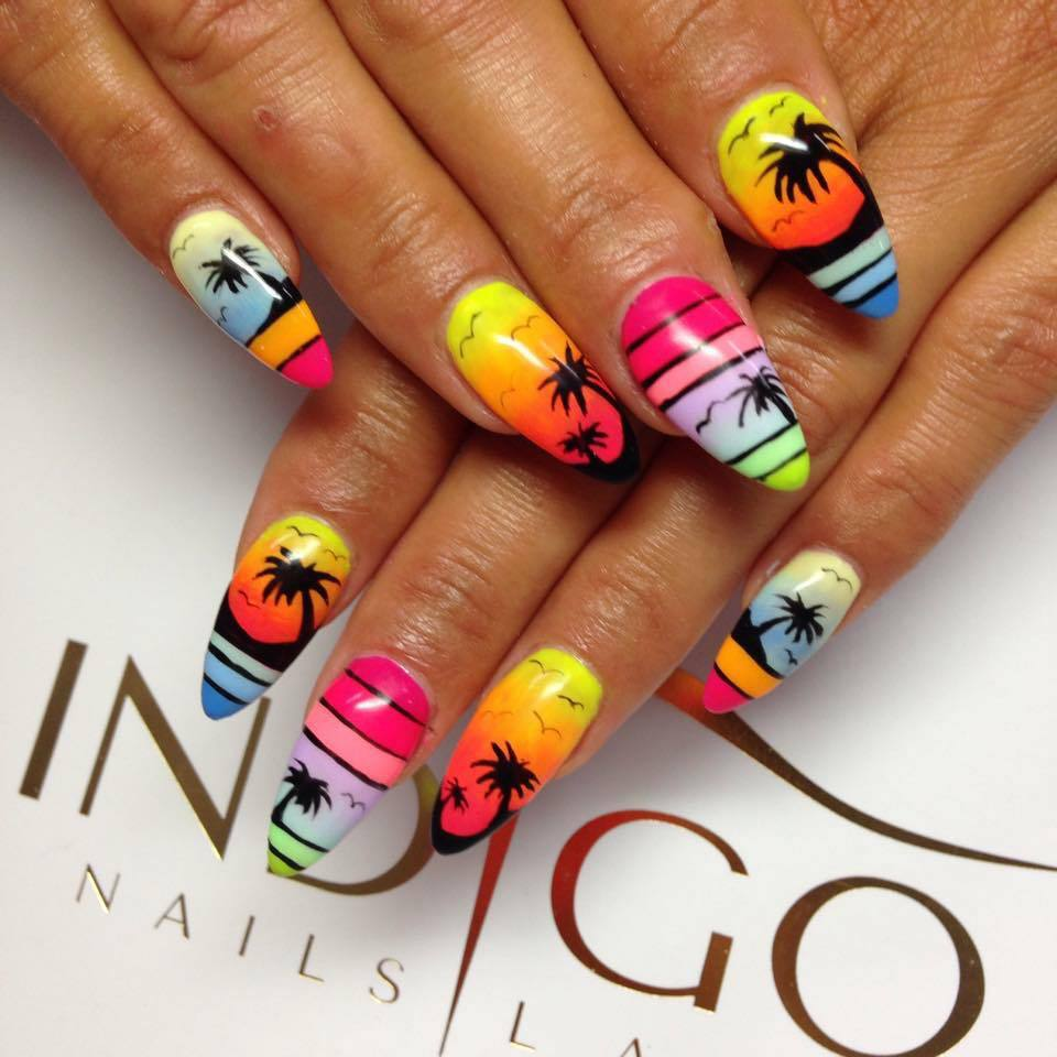 Nicki Minaj Nails Designs