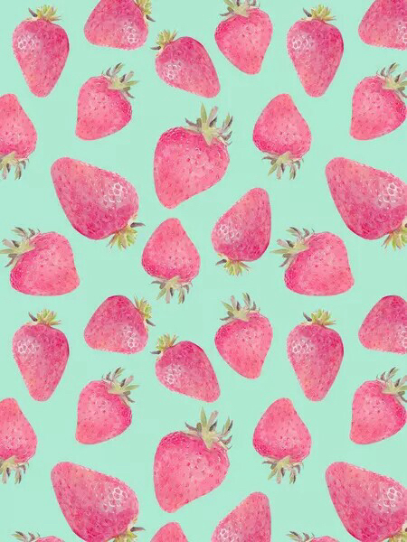 Cute strawberry wallpaper