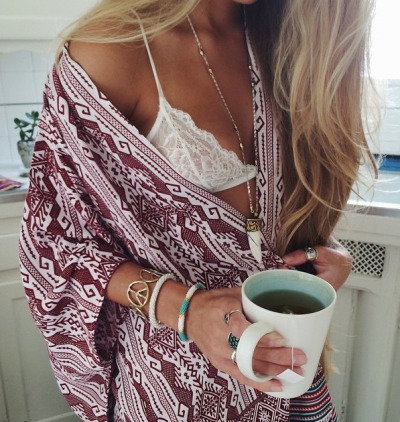 beach, coffee, drinking, fashion, girl, tea, tonightwerewild