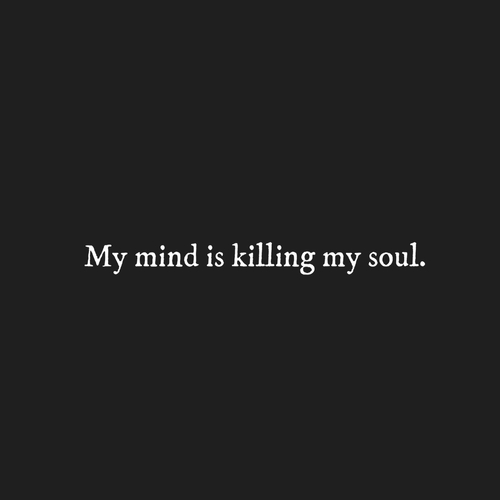black and white, grunge, quotes and soul
