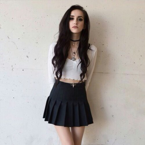 hipster girl skirt - photo #37