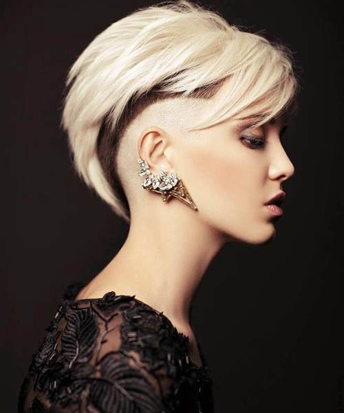 Shaved Hairstyles For Women Short Haircuts 2016 image