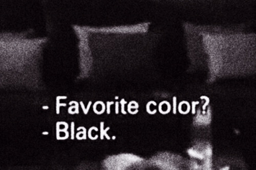 black, black and white, clothes, favorite color, grunge ...