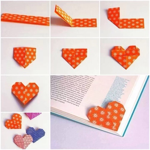 bookmarks, books, hearts, reading
