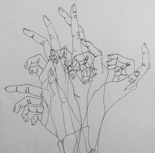 aesthetic, art, drawing, hand, sketch, tumblr, white