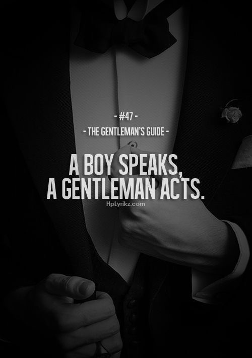 a real gentleman quotes - photo #34
