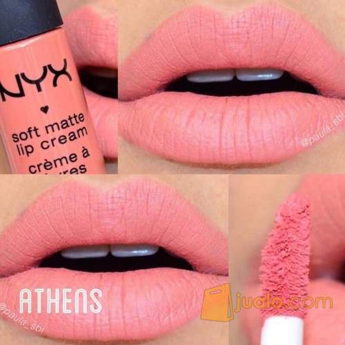 athens, beauty, cosmetics, cream, lips, lipstick, matte, nyx