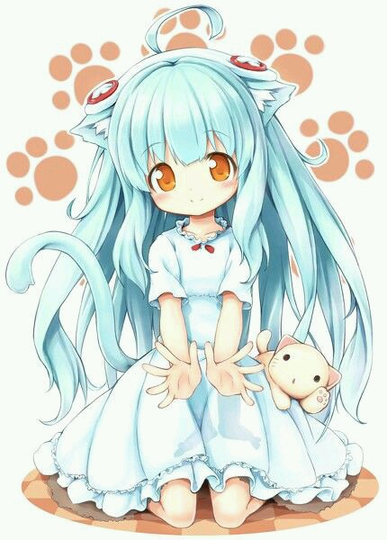 Loli cat image 3420374 by winterkiss on - Anime kitty girl ...
