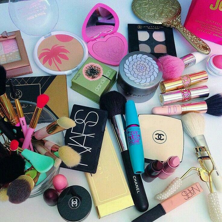 beauty, brushes, chanel and fashion