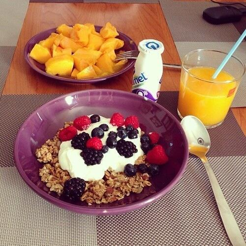 after school, bowl, cool and eating healthy
