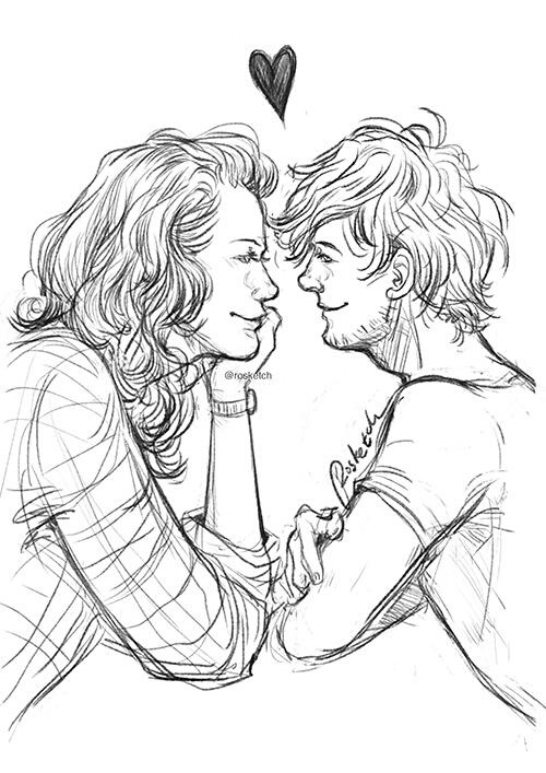 Cute Larry Stylinson Fan Art