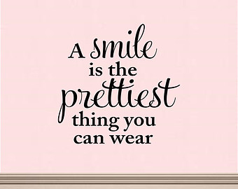 smile is the prettiest thing you can wear - image #3469224 ...