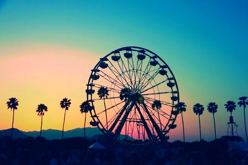 adventure, awsome, city, colorful, colour, colourful, country, ferris wheel, fun, high, hill, love, palm, palm trees, park, perfect, photography, pretty, round, street, sun, sundown, sunset, theme park, travel, view, theme parke