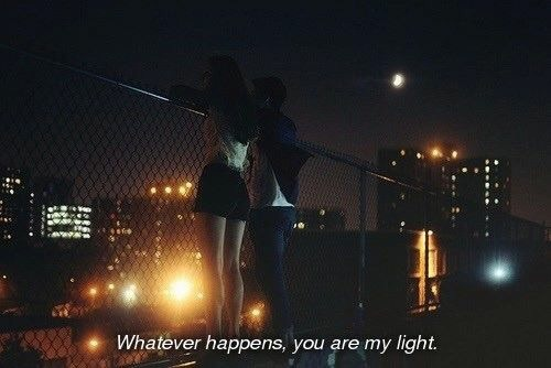bright, building, city, city lights, couple, cuddle, cute, fence, happens, hold hands, hug, jump, kiss, life, light, love, midnight, moonlight, my, relationship, rooftop, shine, sleep, sunlight, teen love, teenage years, together, whatever, wonder