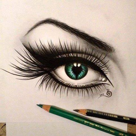 art, cool, draw and eye