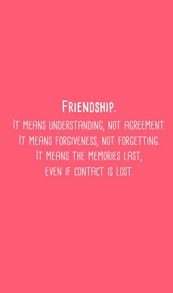 Quotes About Friendship Goal : True friendship means image by helena on