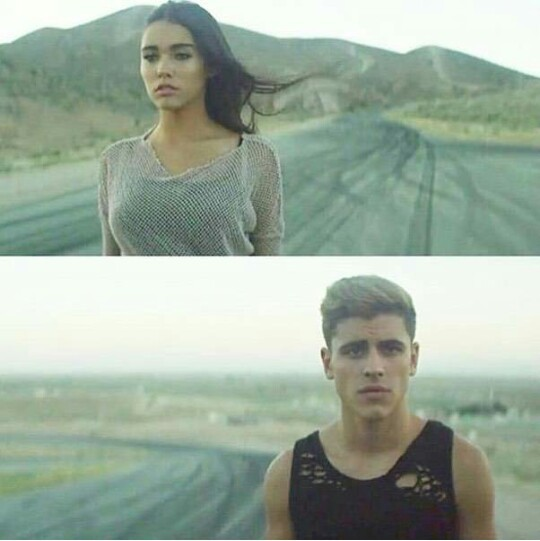 madison beer, madison elle beer, all for love music video and all for love