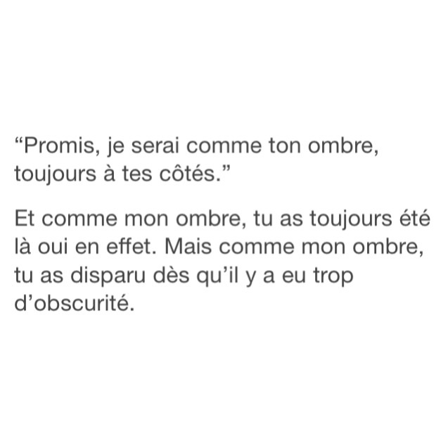 Citation Francais French Ombre Promise Image 3535997 By