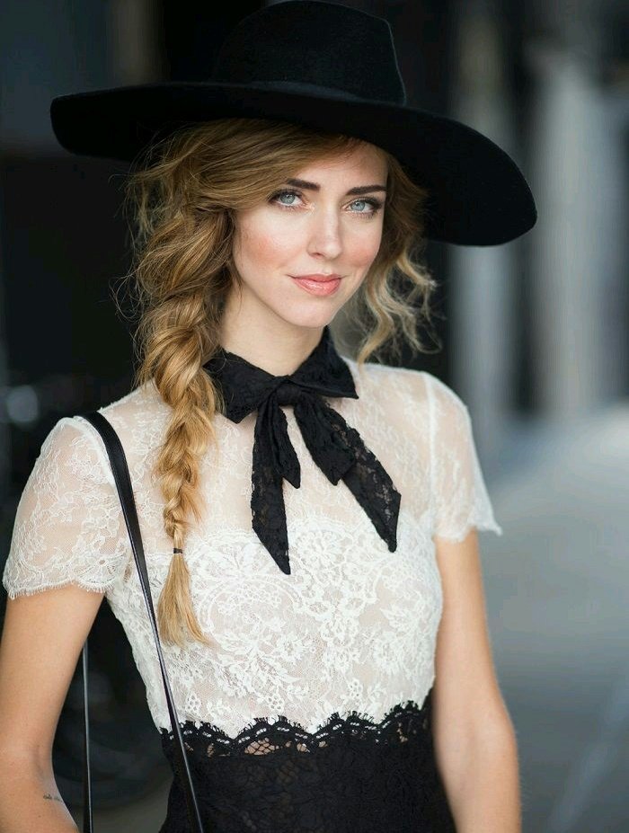 beauty, black and white, blue, blush, braid, chanel, classy, doll, dress, eyes, fashion, hai, hair, hat, italian style, lace, look, make, mrs, outfit, ribbon, shirt, short, street, style, sweet, teen, up, vintage, shabby-chic, oneofmyfavorites, bon-ton