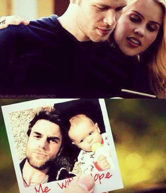 baby, brother, claire holt and dad